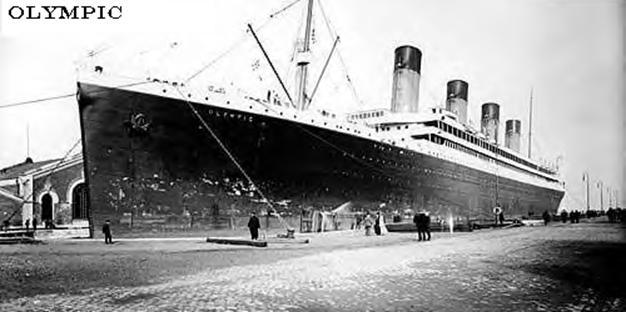 «Олимпик» — родственник «Титаника»