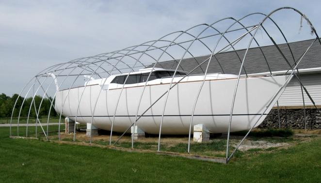Как сэкономить на строительстве яхты