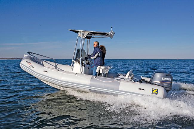 Надувные лодки с жестким днищем (RIB)