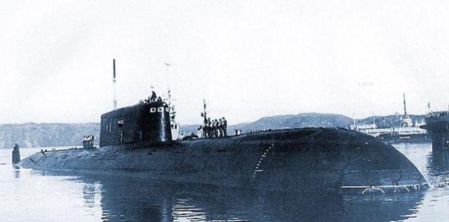 Комсомолец — подводная лодка из титана