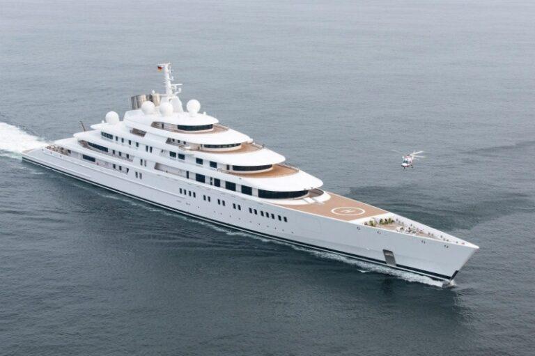 Топ 10 яхт в мире