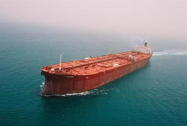 Самый большой корабль в мире — супертанкер «Knock Nevis»