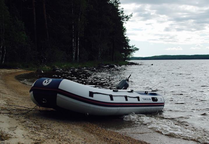 Какие бывают надувные лодки?