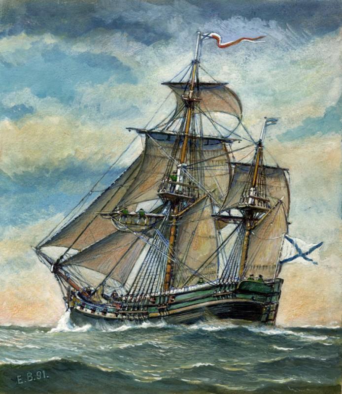 «Кроншлот» — первенец учебного флота